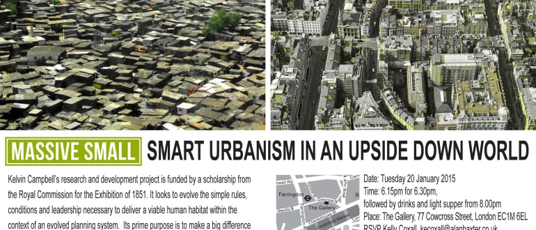 Invitation to Smart Urbanism 20 January 2015 E-Invite
